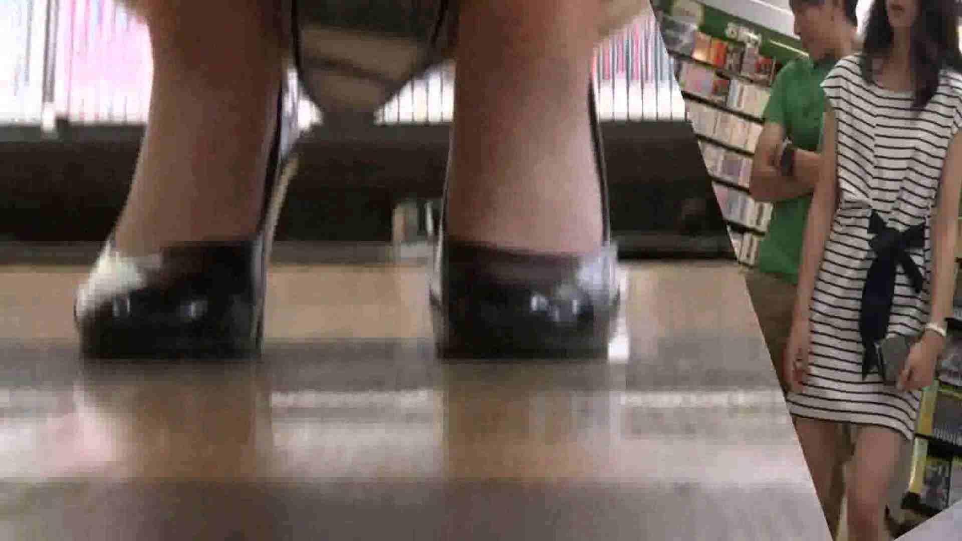 真剣に買い物中のgal達を上から下から狙います。vol.01 すけべなOL  89画像 72
