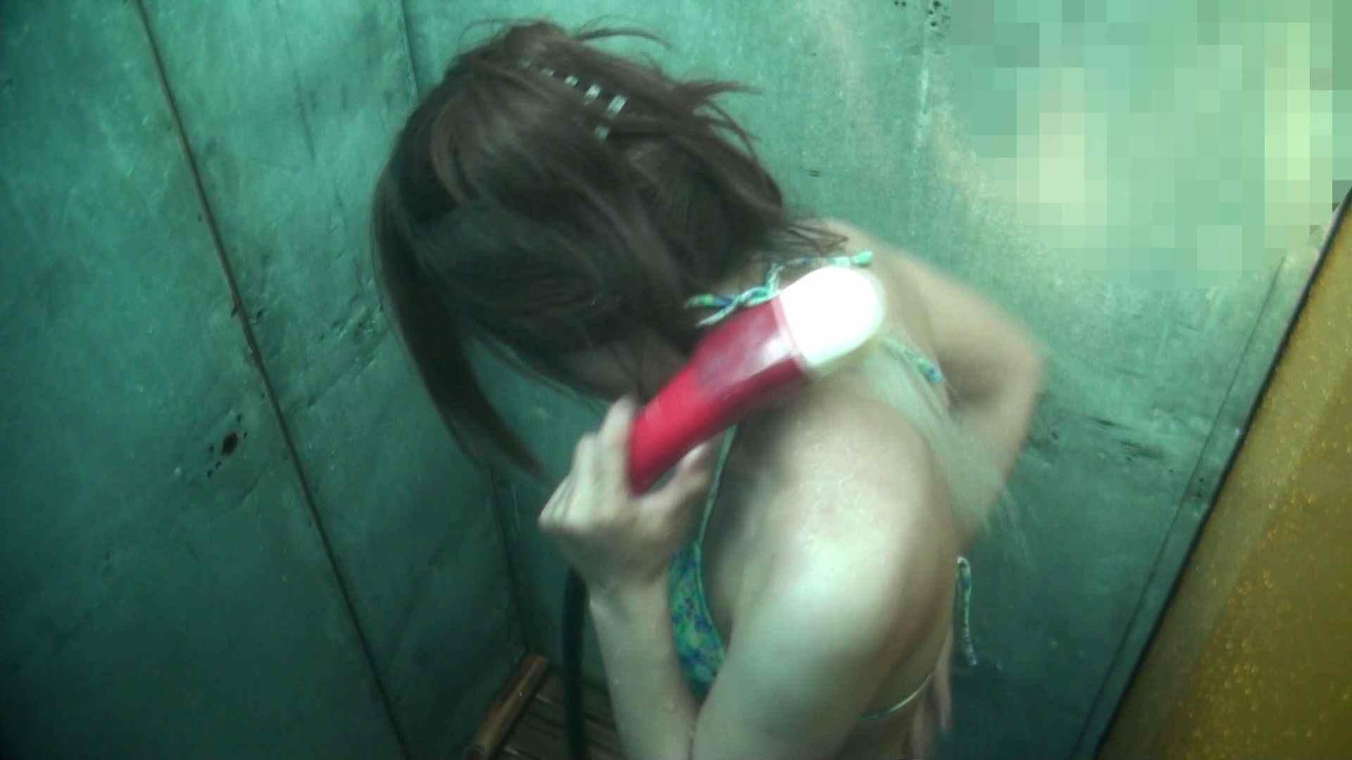 シャワールームは超!!危険な香りVol.15 残念ですが乳首未確認 マンコの砂は入念に シャワー  106画像 25