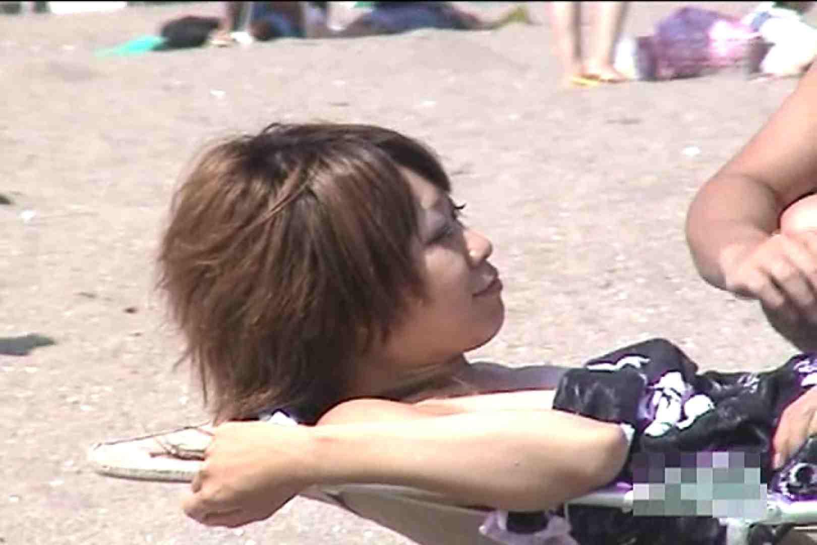 真夏のビーチは危険地帯Vol.2 すけべなOL オマンコ動画キャプチャ 98画像 7